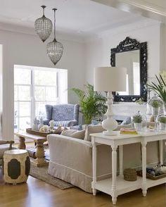 Una casa al estilo Hamptons /Hamptons style house | Bohemian and Chic