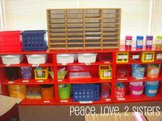 Love the pom pom colors, the classroom arrangement and especially the zebra rug!!!