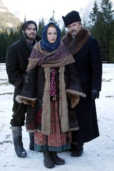 Dr. Zhivago marathon, the old and the new...... Thanksgiving weekend : )