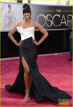 Kelly Rowland - Oscars 2013 Red Carpet | kelly rowland oscars 2013 red carpet 01 - Photo Gallery | Just Jared