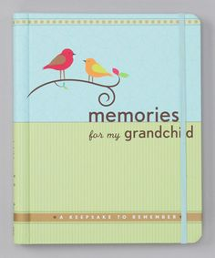 Take a look at this Memories for My Grandchild Hardcover by Peter Pauper Press on #zulily today!
