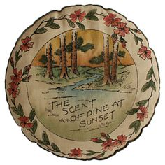 Vintage Souvenir Balsam Pillow #huntersalley