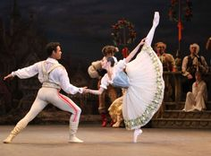 Yonah Acosta & Shiori Kase in English National Ballet's 'Coppelia', photographed by Cheryl Angear (=)
