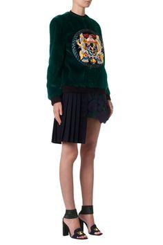 Mary Katrantzou Great mini-skirt with a maxi price over $4,000