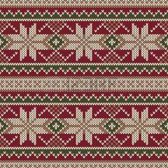 Ornamento sin costuras en el punto de lana de textura. EPS disponibles photo