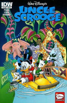 Cover for Uncle Scrooge (IDW, 2015 series) #4 / 408