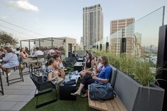 The J Parker Chicago - Rooftop Bar atop the Hotel Lincoln