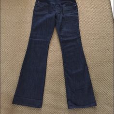 Maternity jeans in excellent condition! Dark color maternity jeans from Maternity store Indigo blue Jeans Boot Cut