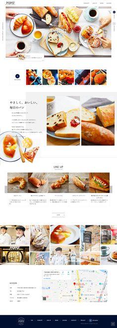 Ppt Design, Cafe Design, Food Design, Layout Design, Graphic Design, Web Design Websites, Blog Website Design, Design Graphique, Web Layout