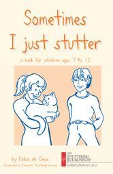 """Free PDF of """"Sometimes I Just Stutter"""". Such a great book for older students who stutter. Repinned by SOS Inc. Resources @sostherapy."""