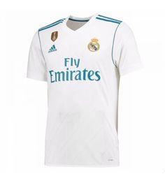 Billiga Real Madrid Hemmatröja 17-18 Kortärmad Real Madrid Shirt, Ronaldo, Mens Tops, T Shirt, Clothes, Style, Fashion, Shirts, Supreme T Shirt