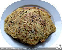 Indische Kichererbsen - Pancakes (vegan)