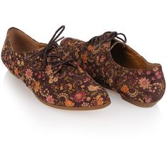 Floral Print Oxfords ($17) found on Polyvore. A popular Forever 21 item, which is currently sold out.