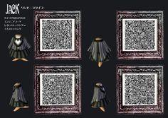 Animal Crossing  jack skellington QR-Codes  | ... shirt animal crossing Sally jack QR code new leaf acnl QR codes qrcode