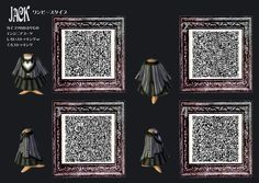 Animal Crossing  jack skellington QR-Codes  | ... shirt animal crossing Sally jack QR code new leaf acnl QR codes qrcode