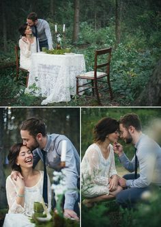 Woodsy Styled Wedding Shoot | PHOTO SOURCE • KAIHLA TONAI PHOTOGRAPHY