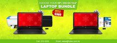 "🕓 Early Bird Christmas Saving 🐤 👉Choose Your HP Laptop Bundle Special! AMD Processor, 4GB RAM, 500GB HHD, Windows 10  Bundle ☝ HP 255 G5 15.6"" Laptop + HP 3635 AIO WiFi Printer + Klip KNS-115BL Laptop Sleeve + 32GB Flash Drive  Bundle ✌ HP 255 G5 15.6"" Laptop + Microsoft Office 365 Personal + McAfee Internet Security + 32Gb Flash Drive  #FultecSystems #EarlyBirdGetsTheWorm #ChristmasInNovember #HP #BundleandSave"