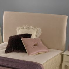 The Monaco headboard matches the Monaco divan bed by Deluxe Beds.