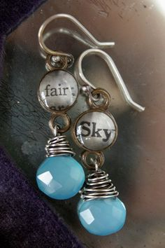From the hands of Deryn Mentock...love her jewelry!