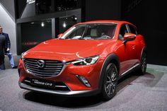 La vedette sur le stand suisse de Mazda n'est autre que le crossover CX-3. Malin et bien dessiné, il va cartonner.