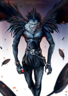 Death Note Ryuk by Advent-Hawk