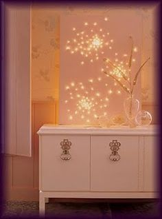 This is so pretty and would make a great night light for a kids room