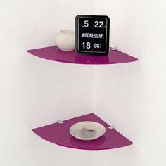 Mensole Di Vetro Angolari.8 Fantastiche Immagini Su Mensole In Vetro Oven Viola E Drinkware