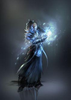 frost mage by 2blind2draw.deviantart.com on @DeviantArt