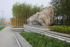 North Diaoyutai Development, Beijing, China. Landscape Architecture by Martha Schwartz Partners. www.marthaschwartz.com