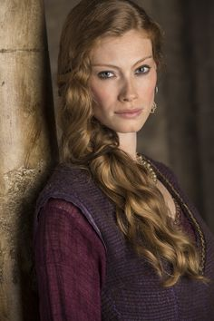 Aslaug is a form of a seeress who sees the future through visions or prophecies