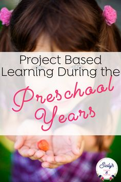 Follow your child's lead with project based homeschooling in the early years. Follow your preschoolers natural curiosities and questions. #homeschoolpreschool #preschoolathome #homepreschool