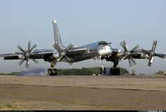 Russia - Air Force Tupolev Tu-95MS BEAR Bomber