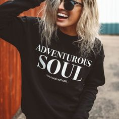 Fall is here Check out @theparksapparel Adventurous Soul Crewneck as well as the rest of their Fall 16 Collection -- PC: @bryce__miller Model: @dreaming_outloud