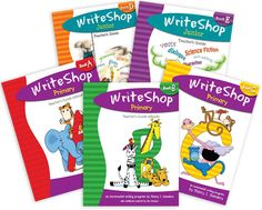WriteShop is a creative homeschool writing program / curriculum for all ages and grades. WriteShop helps make writing fun!