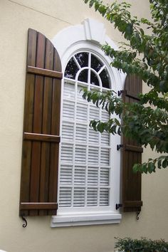 The European look Faux wrought iron shutters Two 14 x 41 12