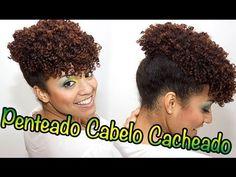 Tutorial Penteado Para Cabelos Cacheados Afros e Crespos CinndyRizos - YouTube