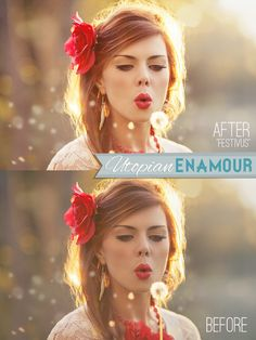 Ethereal and Dreamy Photoshop actions for CS2 - CS6 and Elements 6-11
