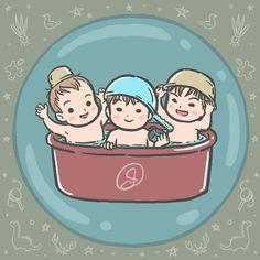 let's take a bath  #DaehanMingukManse #송대한 #송민국 #송만세 #대한민국만세#SongIlKook #송일국 #TeamDaehanMingukManse #TeamSongIlKook