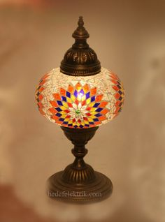 #mosaic #mozaik #lighting #aydinlatma. Eclectic Table LampsTurkish ...