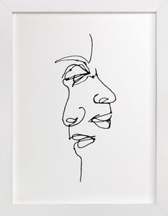 point of view by R studio at minted.com I love this almost #Picasso like #drawing