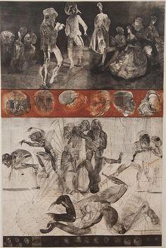 Jiri Anderle, (Czechoslovakian, b. 1936), Homage to Watteau, 1970