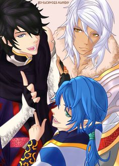(ノ'з `) ノ Me encanta el diseño de éstos personajes. Escojan bien a su Guardia, o al líder que quieran