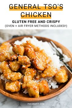 Get crispy general tsos chicken at home without deep frying! Well show you our best oven and air fryer methods for this even-better-than-takeout dish.