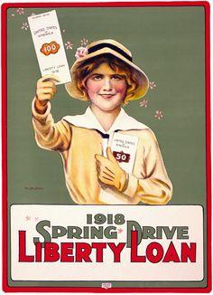 World War 1 - Liberty Loan 1918 Spring Drive
