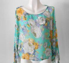 Una #blusa con el #color de temporada.