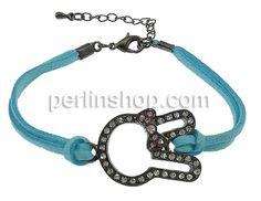 Wollschnur Armband, mit Zinklegierung, Messing Karabinerverschluss, mit Verlängerungskettchen von 2Inch, Hase