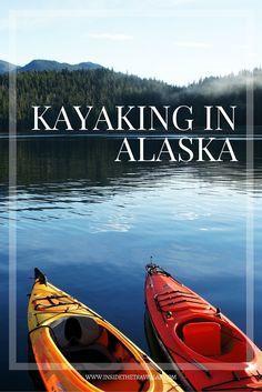 Kayaking in Alaska - an amazing experience in the USA - via /insidetravellab/ Alaska Cruise, Alaska Travel, Travel Usa, Alaska Trip, Luxury Travel, Alaska Summer, Moving To Alaska, North To Alaska, Places To Travel