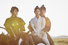 """park bogum, kim yoojung and kwak dongyeon in moonlight drawn by clouds ✧ still cuts""3557 x 2371"" """