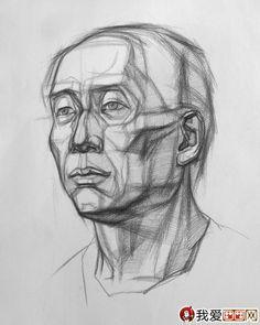 burne hogarth drawing the human head - Google Search