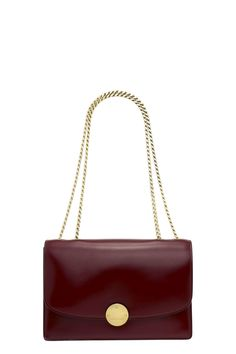 MARC JACOBS Classic Calf Trouble Ii. #marcjacobs #bags #shoulder bags #leather #polyester #lining